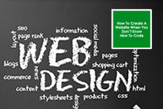 Create a website w/out coding