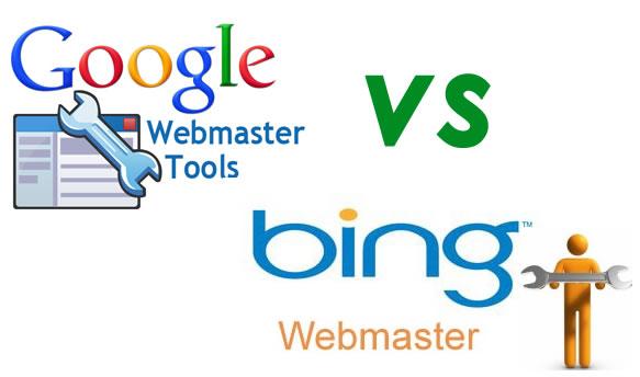 Bing vs Google eebmaster tools