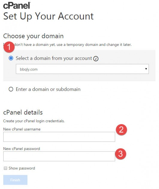 choose-domain-for-hosting-account